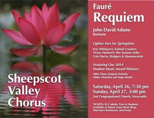 Sheepscot Poster Spring 2014