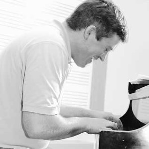 Sean Fleming at the piano