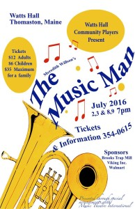 The Music Man 2016 Watts Hall